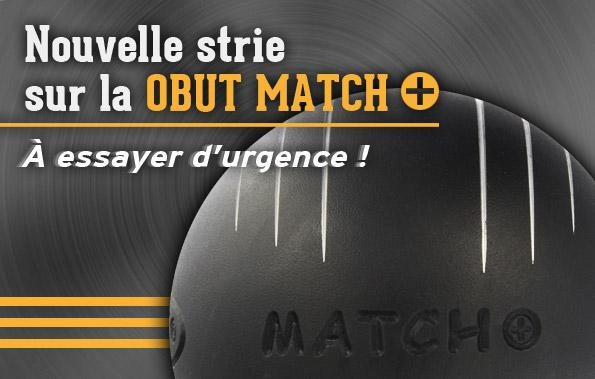 Nouvelle strie Obut Match+