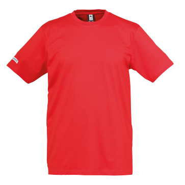 T-Shirt Teamsport - Rouge - adulte