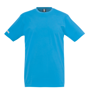 T-Shirt Teamsport - Cyan - adulte