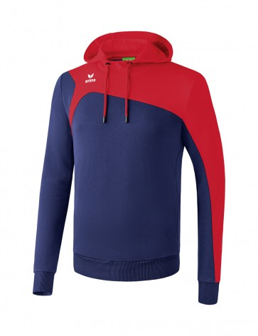 Sweat à capuche Club 1900 2.0 - Enfant - bleu marine/rouge
