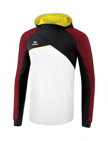 Sweat à capuche Premium One 2.0 - Enfant - blanc/noir/rouge/jaune