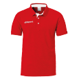 Polo manches courtes Essential - Rouge - Adulte