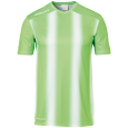 Maillot manches courtes Stripe 2.0 - Vert Fluo/blanc - Homme