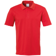 Polo en coton manches courtes Essential - Rouge - Adulte