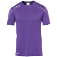 Maillot manches courtes Stream 22 - Violet/blanc - Homme