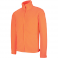 Veste polaire zippée homme Kariban K911-Orange-fluo