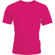 T-shirt sport manches courtes - homme - rose