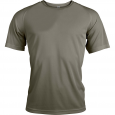 T-shirt sport manches courtes - homme - vert olive
