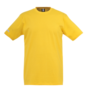 T-Shirt Teamsport - Jaune Maïs - adulte