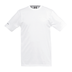 T-Shirt Teamsport - Blanc - adulte