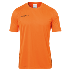 T-Shirt Score - Orange Fluo/noir - Enfant