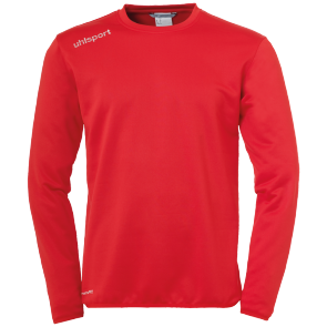 Sweat Essential - Rouge/blanc - Homme