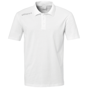 Polo en coton manches courtes Essential - Blanc - Adulte