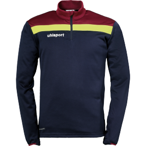 Sweat Offense 23 - Bleu Marine/bordeaux/jaune - Enfant