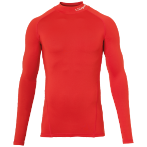 Maillot manches longues Distinction - Rouge - Homme