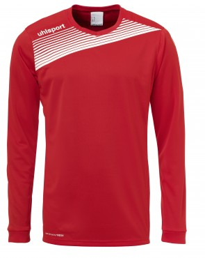 Maillot manches longues Liga 2.0 - Rouge/blanc - Homme
