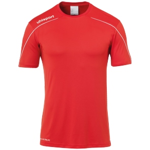 Maillot manches courtes Stream 22 - Rouge/blanc - Homme