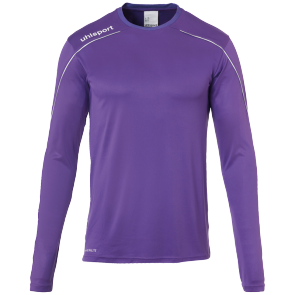 Maillot manches longues Stream 22 - Mauve/blanc - Homme