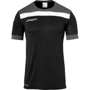 Maillot manches courtes Offense 23 - Noir/anthracite/blanc - Homme