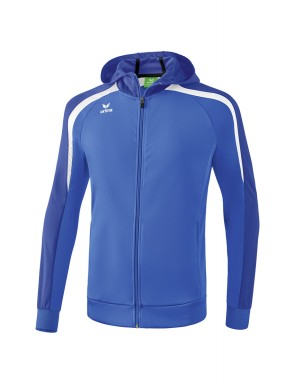 Veste d'entraînement Liga 2.0 avec capuche - Adultes - Enfants - new royal/true blue/blanc