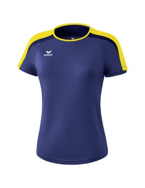T-shirt Liga 2.0 - Femmes - new navy/jaune/dark navy