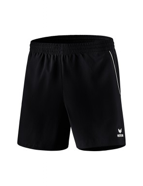 Short de loisir / tennis de table - Homme - noir/blanc