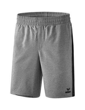 Shorts Premium One 2.0 - Enfant - gris chiné/noir