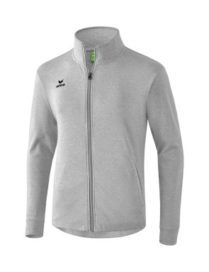 Veste sweat - Enfant - gris chiné clair