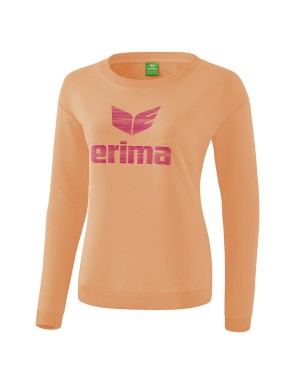 Sweat-shirt Essential - Enfant - pêche/rose