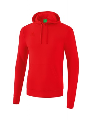 Sweat à capuche - Homme - rouge