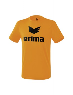 T-shirt promo fonctionnel - Homme - orange/noir