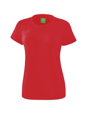 T-Shirt style - Femme - rouge