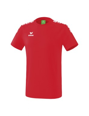 T-Shirt 5-C Essential - Homme - rouge/blanc