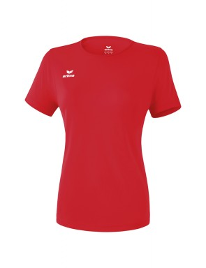 T-shirt fonctionnel Teamsport - Femme - rouge
