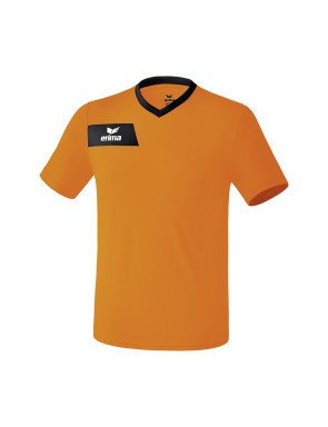 Maillot Porto - Enfant - orange/noir