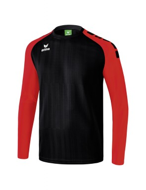 Maillot manches longues Tanaro 2.0 - Homme - noir/rouge