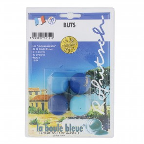 Lots de 4 buts collectors La Boule Bleue