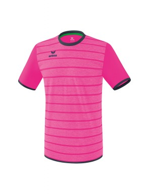 Maillot Roma - Enfant - rose glo/gris