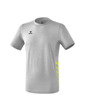 T-Shirt Running Race Line 2.0 - Enfant - gris chiné