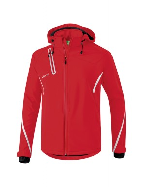 Veste Softshell Fonction - Adultes - rouge/blanc