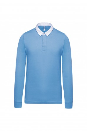 Polo Rugby - Sky blue - Taille S