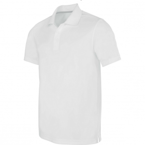 Polo manches courtes - homme - blanc