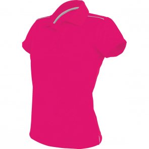 Polo manches courtes - femme - rose