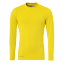 T-Shirt Distinction - Jaune Citron - Homme