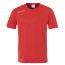 Maillot manches courtes Essential - Rouge/blanc - Homme
